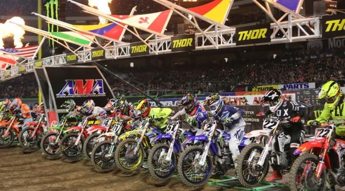 Monster Energy Supercross 2018 – 1a etapa – Anaheim 1
