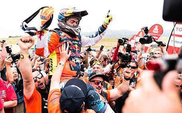Matthias Walkner é campeão do Rally Dakar 2018