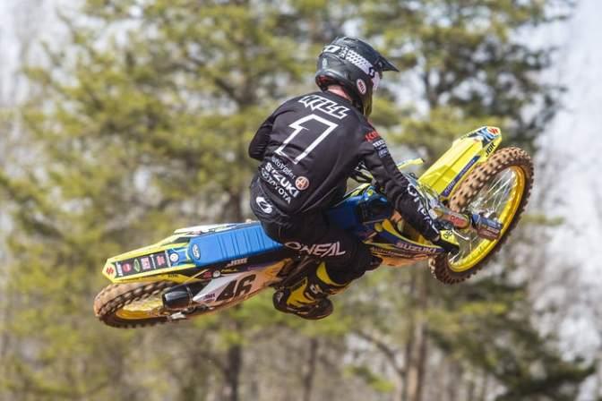 Justin Hill nas 450cc do AMA Supercross 2018