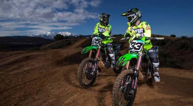 Apresentação da Monster Energy Kawasaki Racing 2018