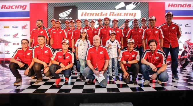 Honda Racing anuncia equipes e patrocínios para a temporada 2018 e comemora 40 anos de apoio ao motociclismo no Brasil