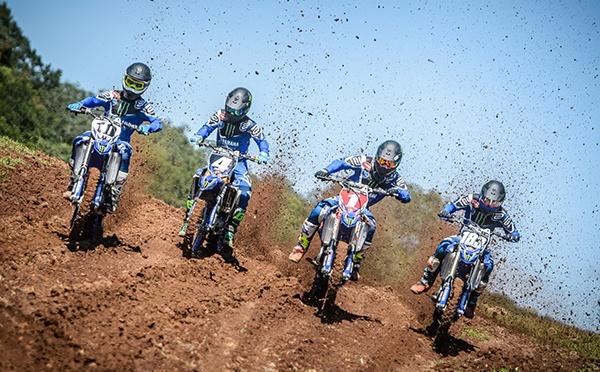 Equipe Yamaha Monster Energy Geração estreia no Brasileiro de Motocross 2018 neste final de semana