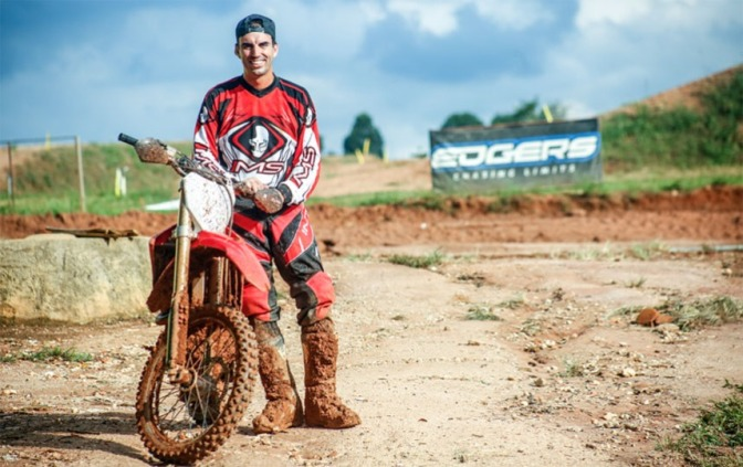 Cristiano Lopes volta às pistas e disputará Brasileiro de Motocross 2018