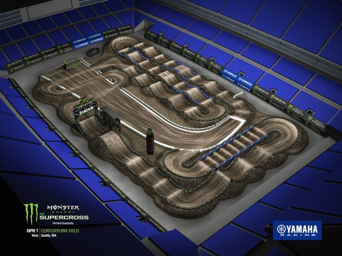 VOLTA VIRTUAL MONSTER ENERGY SUPERCROSS 2018 EM SEATTLE