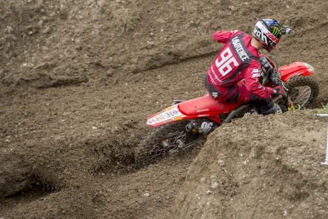Hunter Lawrence se lesiona em Trentino