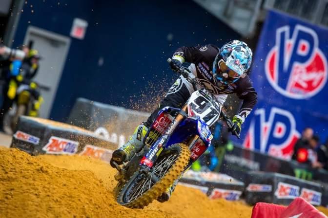 Alex Ray na Monster Energy/Factory Yamaha para o AMA Motocross 2018