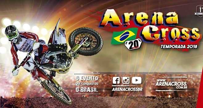 Calendário do Arena Cross Brasil 2018