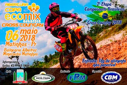 Neste domingo Matinhos(PR) receberá 2ª etapa do Brasileiro de Cross Country