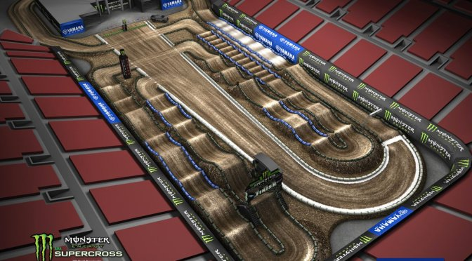 Volta virtual Monster Energy Supercross 2018 em Las vegas