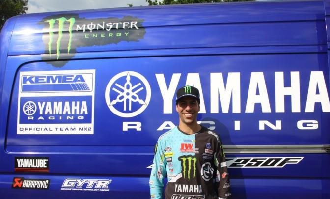 Anthony Rodriguez na Kemea Yamaha
