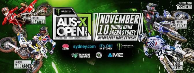 Barcia, Brayton, Anderson e Reed confirmados para o AUS-X Open 2018