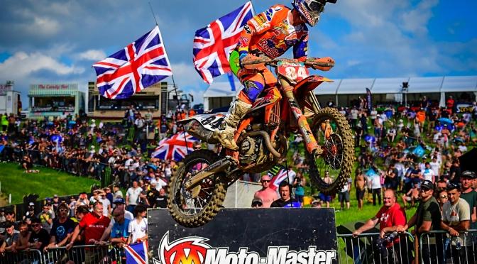 Mundial de Motocross 2018 – 9a etapa – MXGP da Grã Bretanha