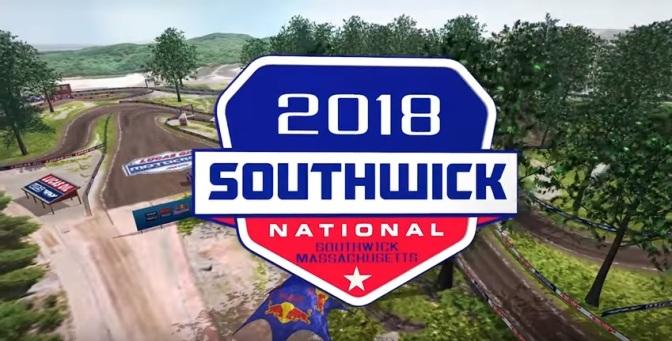 Volta virtual Lucas Oil Pro Motocross 2018 em Southwick