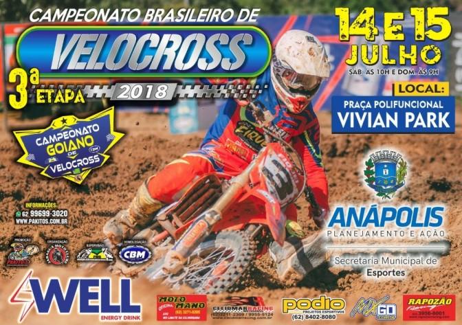 Anápolis (GO) retorna ao calendário do Brasileiro de Velocross