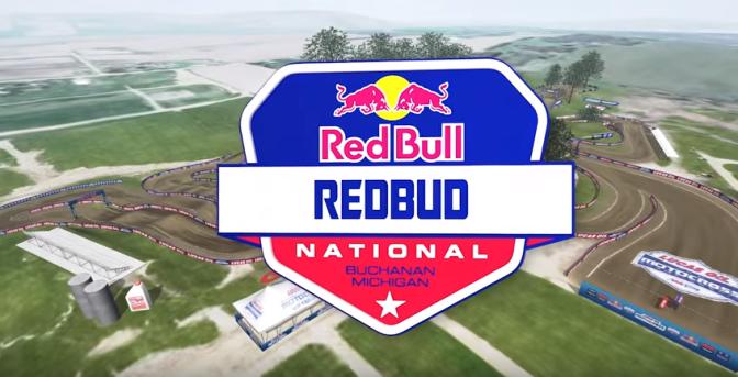 Volta virtual Lucas Oil Pro Motocross 2018 em RedBud