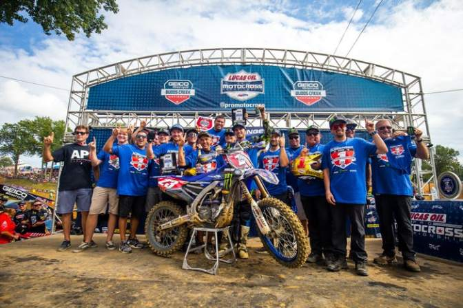 Lucas Oil Pro Motocross (AMA Motocross) 2018 – 11a etapa – Budds Creek