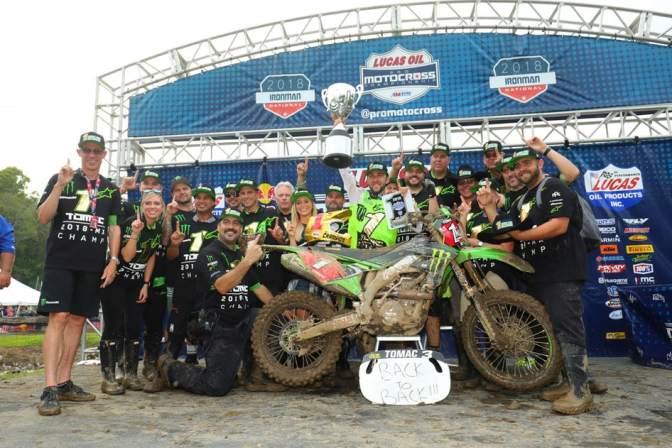 Lucas Oil Pro Motocross (AMA Motocross) 2018 – 12a etapa – Ironman