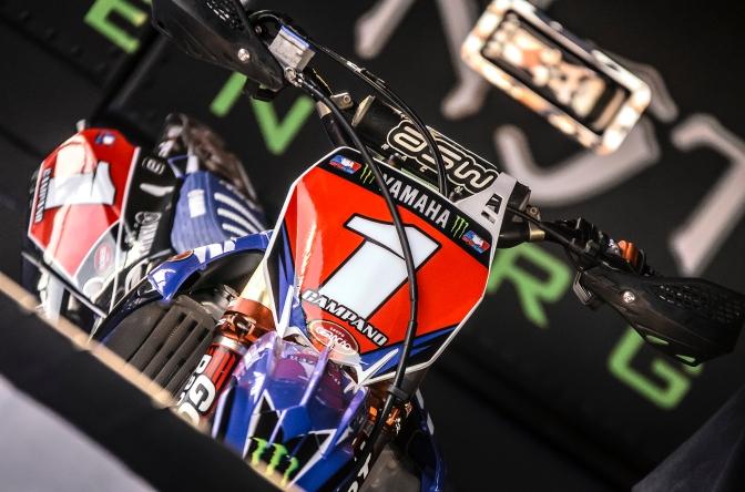 Líderes, pilotos Yamaha Monster Energy Geração disputam 5ª etapa do Brasileiro de Motocross 2018
