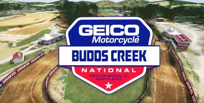 Volta virtual Lucas Oil Pro Motocross 2018 em Budds Creek