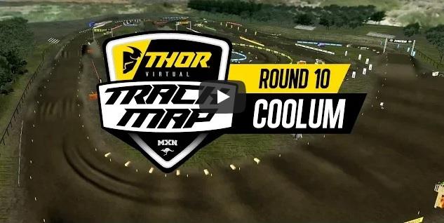 Volta virtual Campeonato Australiano de Motocross 2018 em Coolum