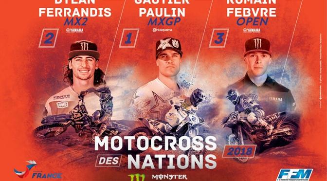 França revela equipe para o MXoN 2018