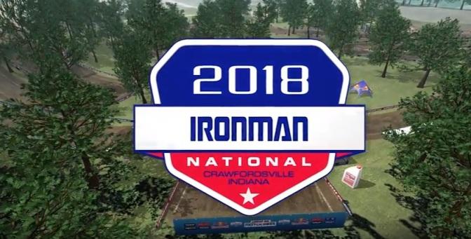 Volta virtual Lucas Oil Pro 2018 em Ironman
