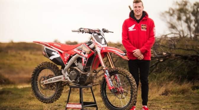 Bradley Taft vai disputar o Australiano de Supercross 2018