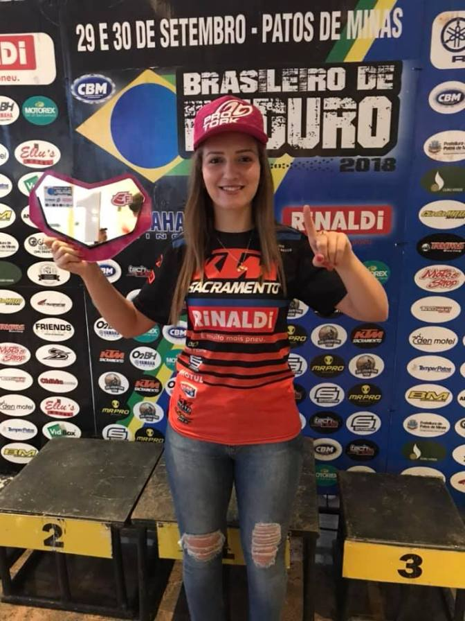 Maiara Basso é campeã Brasileira de Enduro FIM 2018