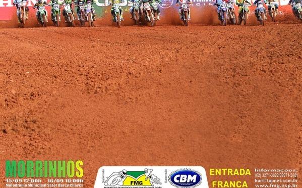 Etapa do Brasileiro de Motocross em Morrinhos (GO) será a penúltima para MXF, 50cc e 65cc.