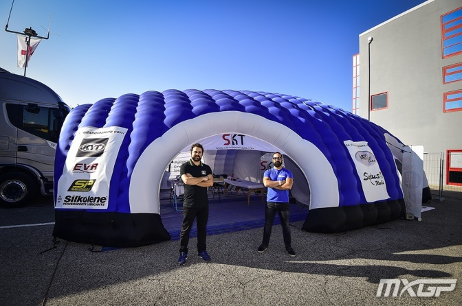 MXGP de Ímola inova os eventos de Motocross com tratamento de fisioterapia in loco para os pilotos