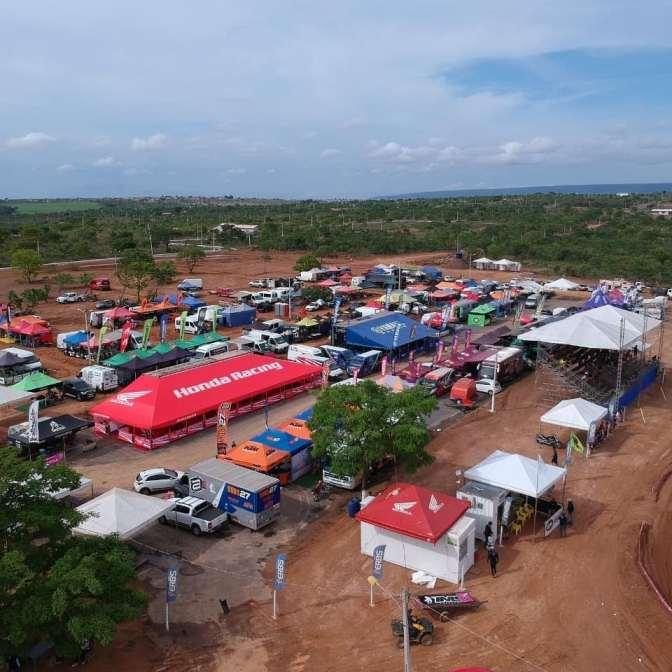 Mais de 350 pilotos marcam presença na penúltima etapa do Brasileiro de Motocross em Goiás