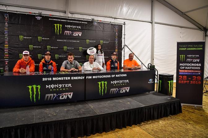 Apresentação oficial do Motocross das Nações 2019