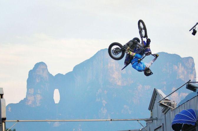 Brasileiro é convidado para Mundial de Freestyle Motocross na China