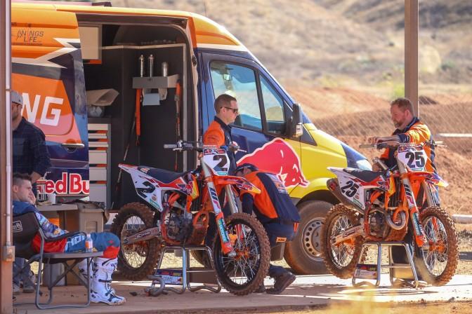 KTM apresenta equipes para a temporada 2019 do AMA SX/MX
