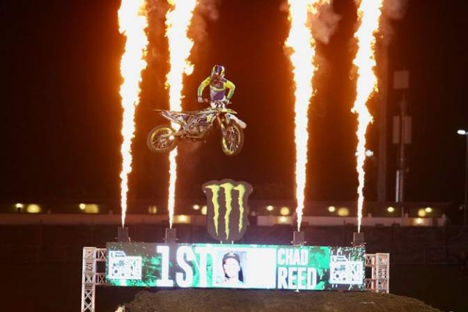 Chad Reed vence o SX Open Auckland 2019