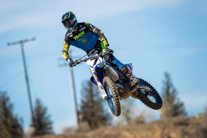 Aaron Plessinger fora do Geneva Supercross