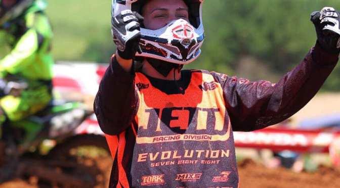 Maiara Basso é Campeã Brasileira de Motocross 2018