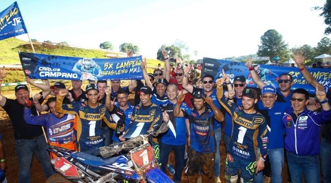 Yamaha Monster Energy Geração é campeã do Brasileiro de Motocross 2018 em três categorias