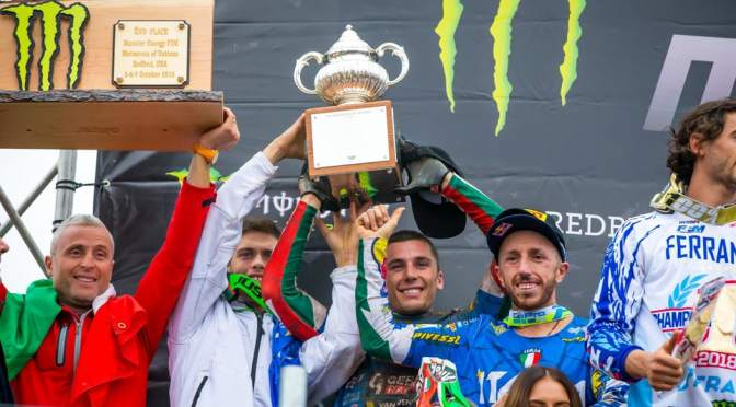 Itália é desclassificada do MXoN 2018