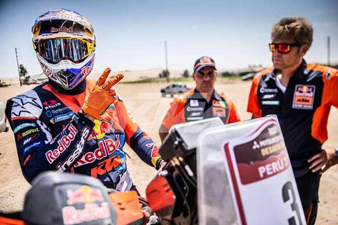 Toby Price é bicampeão do Rally Dakar 2019