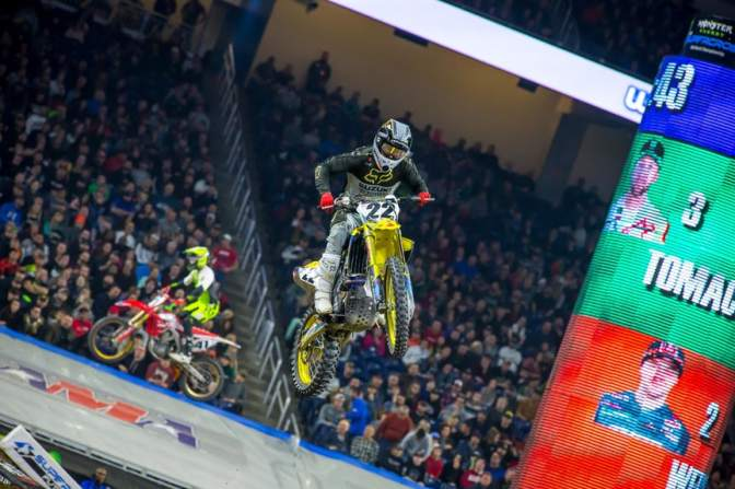 Monster Energy Supercross 2019 (AMA Supercross) – 8a etapa – Detroit