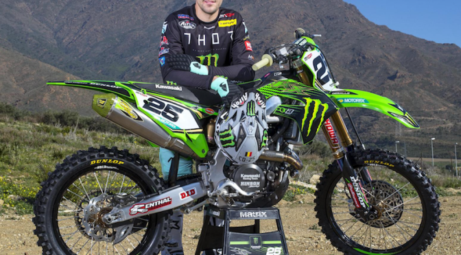 Equipe Monster Energy Kawasaki Racing revelada para o MXGP 2019