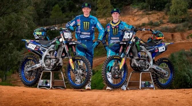 Monster Energy Kemea Yamaha MX2  apresenta lineup para 2019