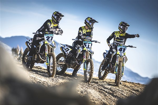 Conheça a Rockstar Energy Husqvarna Factory Racing MXGP 2019