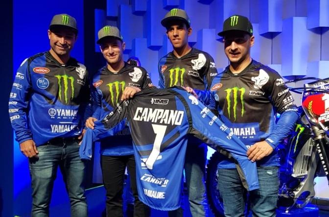 Yamaha Monster Energy Geração está pronta para vencer na temporada 2019