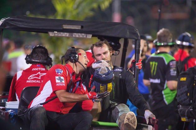 Aaron Plessinger se lesiona em Daytona