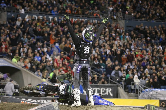 Monster Energy Supercross 2019 (AMA Supercross 2019) – 12a etapa – Seattle