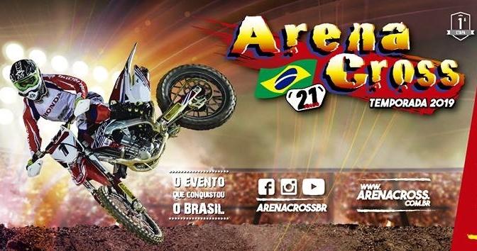 Calendário oficial do Arenacross 2019