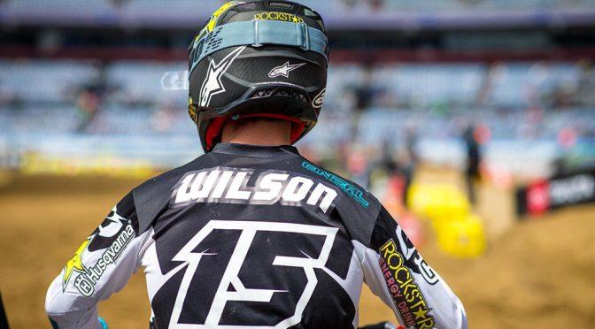 Dean Wilson de fora das duas últimas etapas do AMA Supercross 2019
