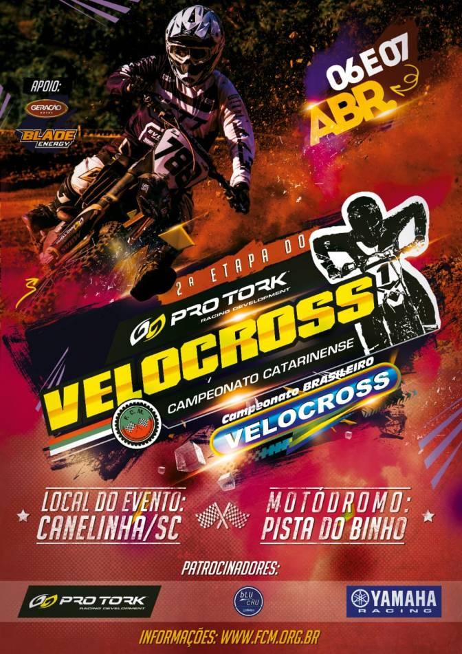Brasileiro de Velocross segue para sua 2ª etapa neste final de semana em Santa Catarina